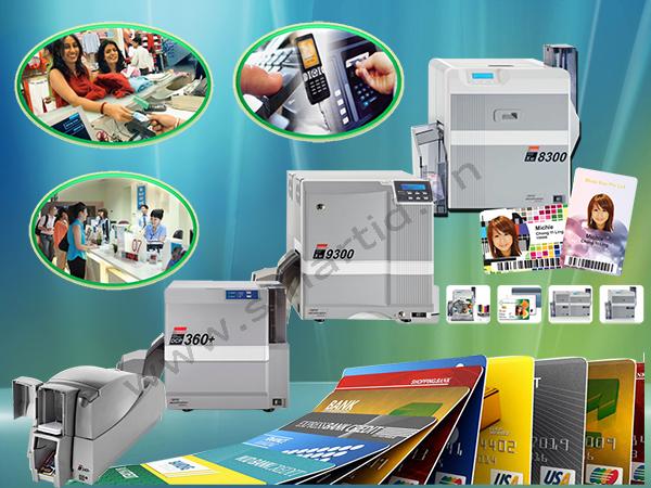 In thẻ ngân hàng chuyên nghiệp với hệ thống máy in thẻ XID