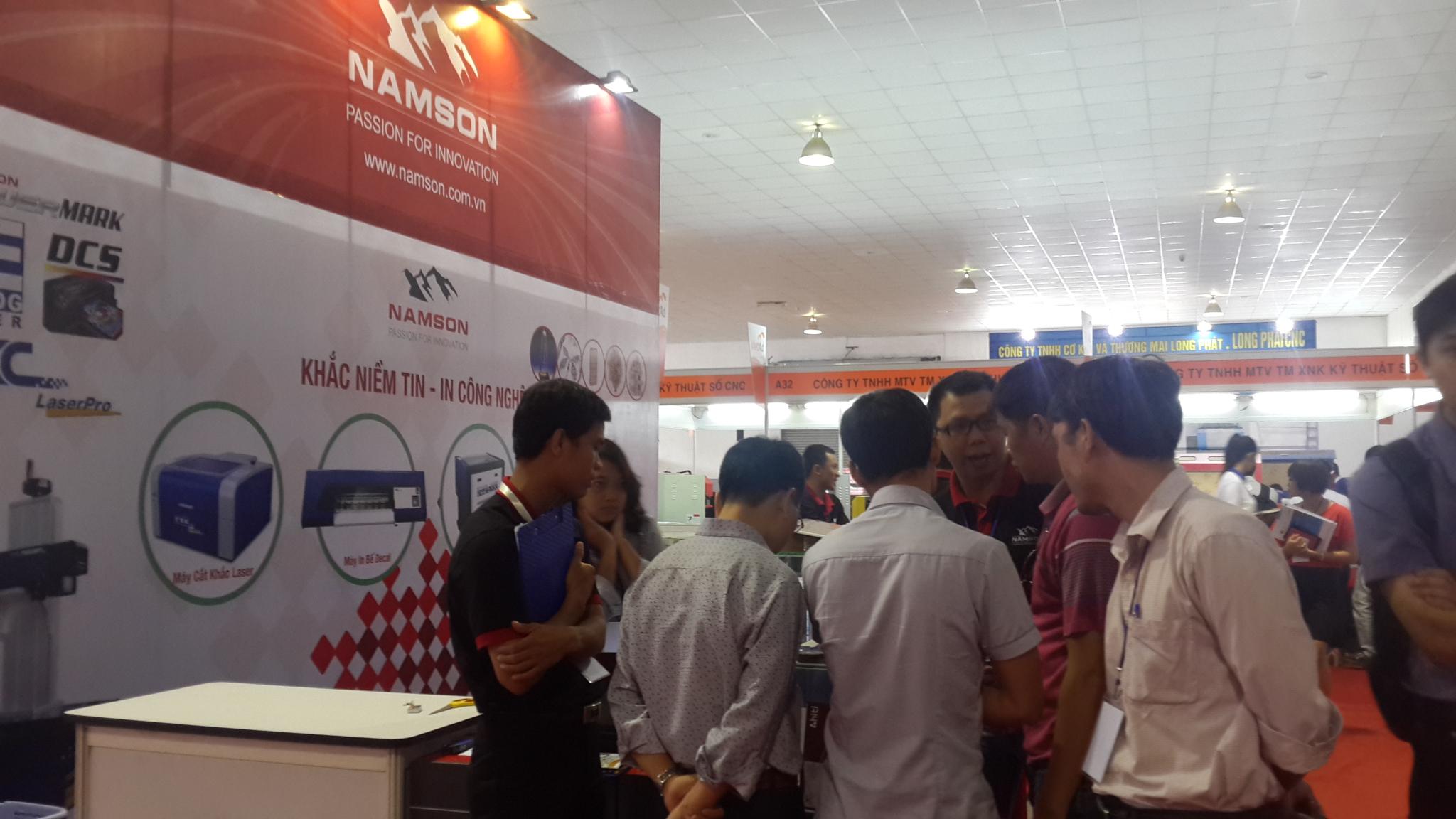 Smartid vinh dự góp mặt trong triển lãm VietAd 2013