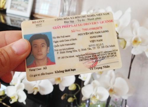 Giấy phép lái xe bằng thẻ nhựa PET mới có gì nổi bật?