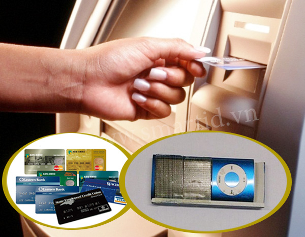 Xuất hiện chiêu ăn cắp thẻ ATM đơn giản bằng một chiếc iPod