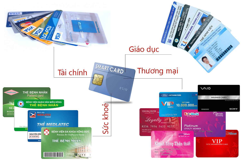 Điểm danh các loại thẻ phổ biến tại Việt Nam