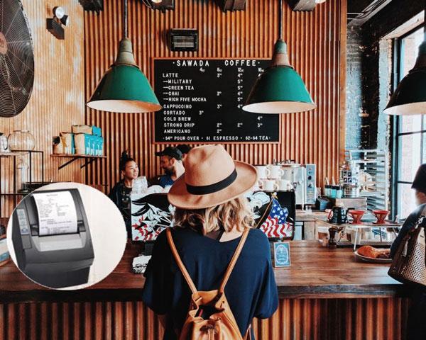 Mua máy in hóa đơn cho quán café, nên hay không nên?
