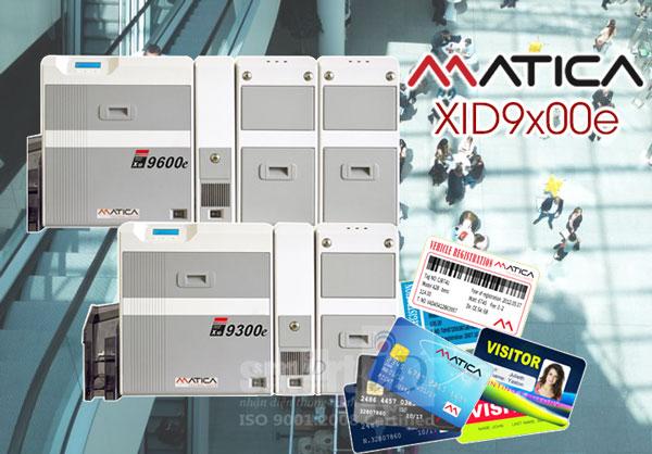 Matica XID9x00e - Dòng máy in thẻ để bàn vận hành mạnh mẽ nhất từ trước đến nay!
