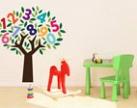 Decal dán tường kích thích sự thông minh và sáng tạo cho trẻ mầm non!