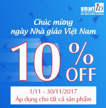 Khuyến mãi tri ân ngày Nhà giáo Việt Nam