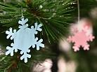 Cắt bông tuyết trang trí Noel bằng máy cắt giấy thủ công siêu nhanh