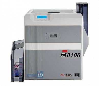 máy in thẻ chuyển nhiệt cơ bản Matica XID8100