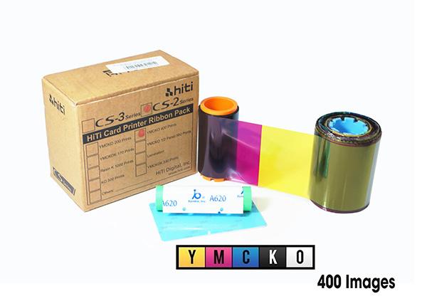 Ribbon mực in thẻ màu YMCKO HiTi 87.R0A09.19X