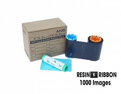 Ribbon mực in thẻ đen HiTi 87.R0B09.19XV