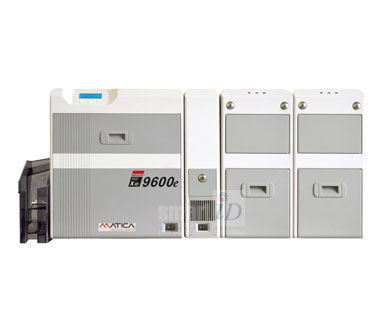 Máy in thẻ số lượng lớn, độ phân giải cao Matica XID9600e