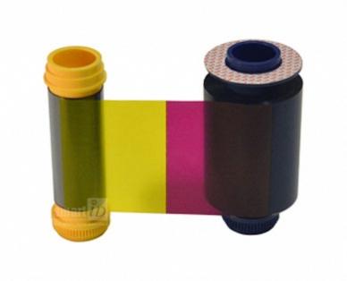 Ribbon mực in thẻ 1/2 dải màu YMCKO Matica Espresso - PR000166