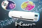 Máy cắt giấy hoa văn GCC i-Craft với tính năng cắt ảnh mới từ Smartphone