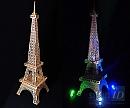Làm mô hình tháp Eiffel bằng máy cắt decal