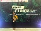 Máy in ảnh nhiệt Sinfonia và món quà ý nghĩa trong Hội nghị luật lao động Việt Nam 2018