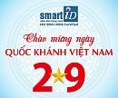 SmartID thông báo Lịch nghỉ lễ Quốc Khánh 2/9/2018
