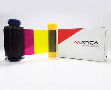 Ribbon mực in thẻ YMCK Matica Espresso - PR000032