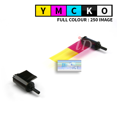 Ruy băng mực màu YMCKO NISCA PR-C151 YMCKO - 250 thẻ/cuộn