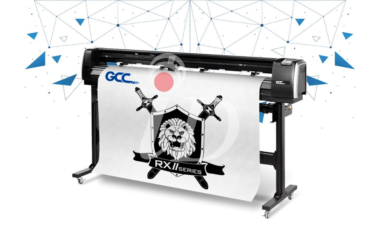 Máy cắt decal GCC RX II